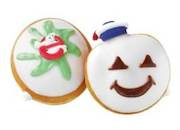 Marshmallow Krispy Kreme Ghostbuster treats Available Sep 29 thru Oct 31